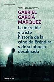 Publica el libro de cuentos La increíble y triste historia de la cándida Eréndira y de su abuela desalmada y el cuento Ojos de Perro Azul