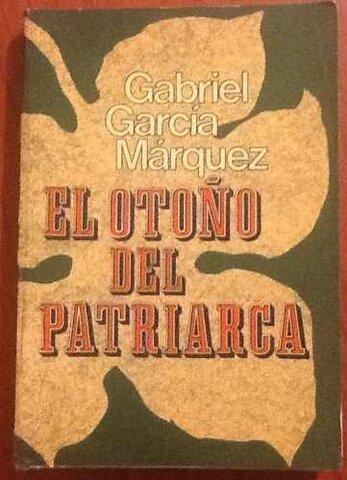 """Publica """"El otoño del Patriarca"""""""