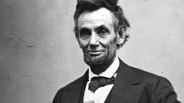Abraham Lincoln is elected President