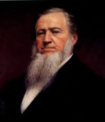 Brigham Young Appointed as leader of the Church