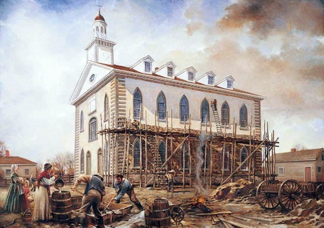 First Mormon Temple Completed in Kirtland, Ohio
