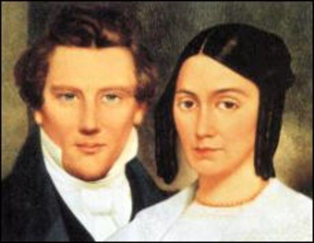 Joseph Smith marries Emma