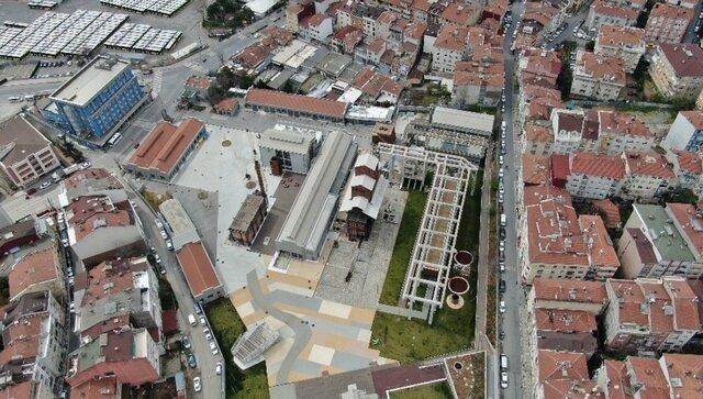 Hasanpaşa Gazhanesi'de Çalışmaların Tamamlanması
