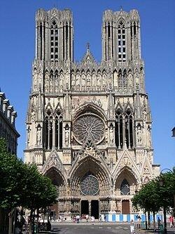 Katedrála Notredame v Remeši
