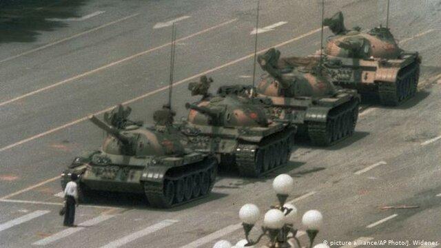 China's under martial law (Tienanmen Square Massacre)