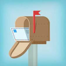 Invención del correo postal.