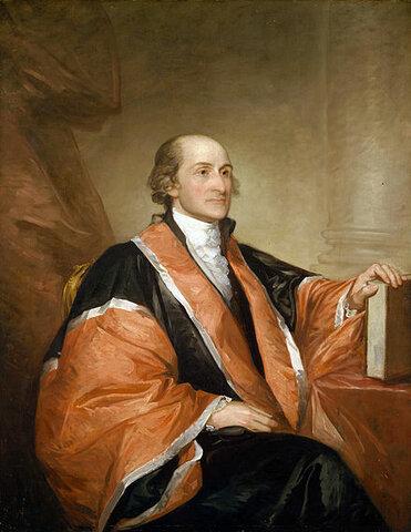 John Jay. (1745-1829).