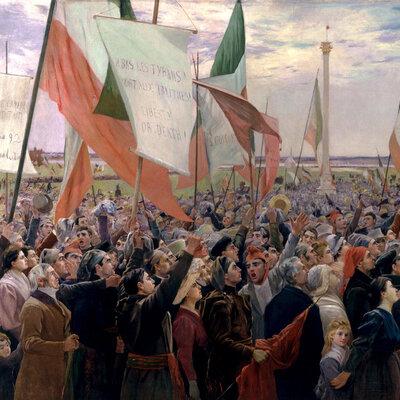 Revendications et luttes nationales timeline