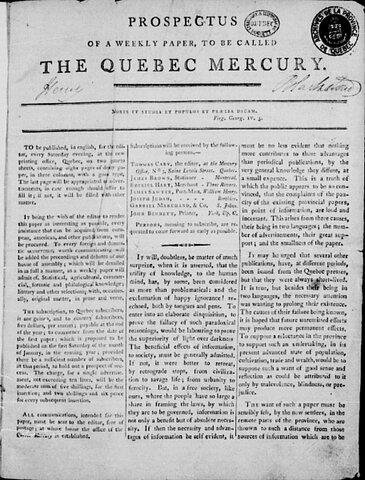 Journal de Quebec Mercury