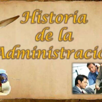 Historia de la administración timeline