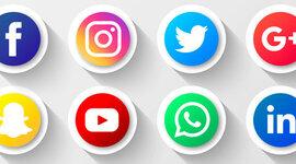 redes sosiales timeline