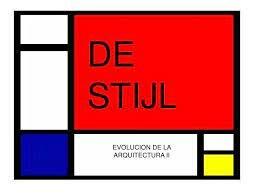 De Stijl (1917-1931)