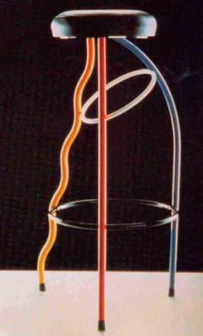 Silla Duplex Tricolor 1980