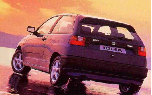 Coche Seat Ibiza 1990