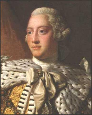 King George III becomes king