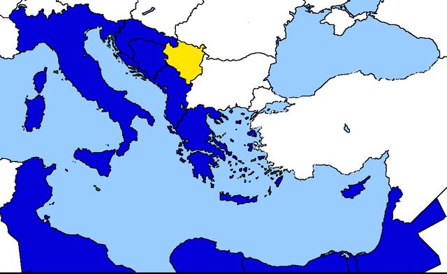 Ingresso della Serbia nella Comunità Economica Mediterranea
