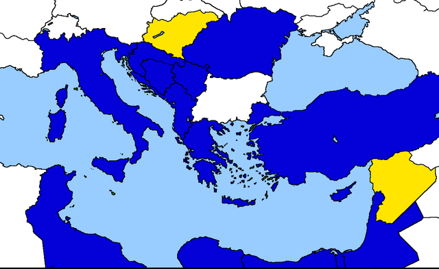 Entrata dell'Ungheria e della Siria nella Comunità Economica Mediterranea