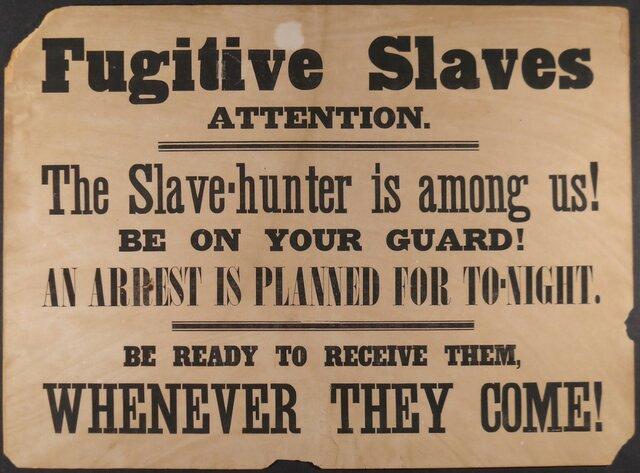 Fugitive Slave Cause