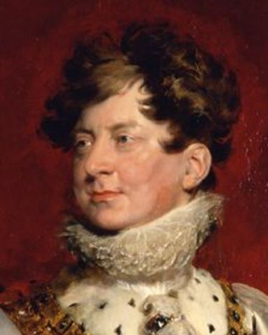 George IV becomes king