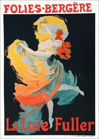 Loïe Fuller. Folies Bergére.
