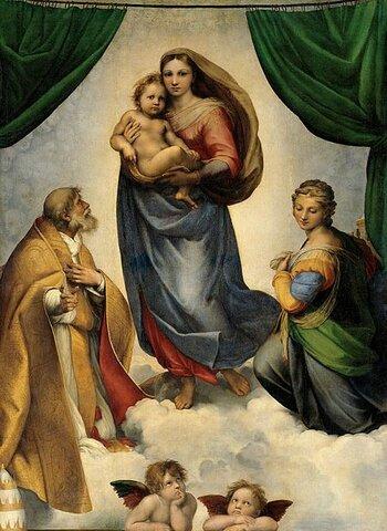 Raffael: Sixtinische Madonna