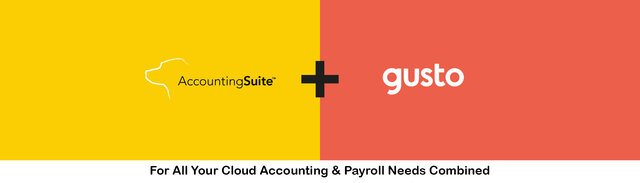 AccountingSuite™ announces their newest integration with Gusto®