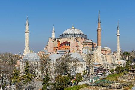 Kuppel der Hagia Sophia