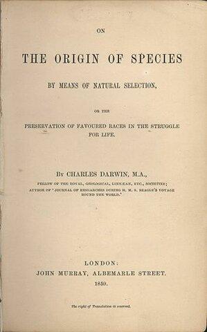 Darwin: On the Origin of Species