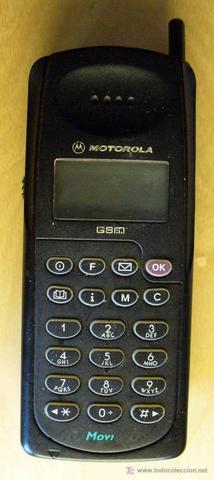 1er Telefono movil motorola de prepago