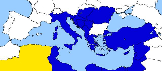Entrata dell'Algeria nella Comunità Economica Euro-Mediterranea