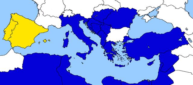 Entrata della Spagna e del Portogallo nella Comunità Economica Euro-Mediterranea