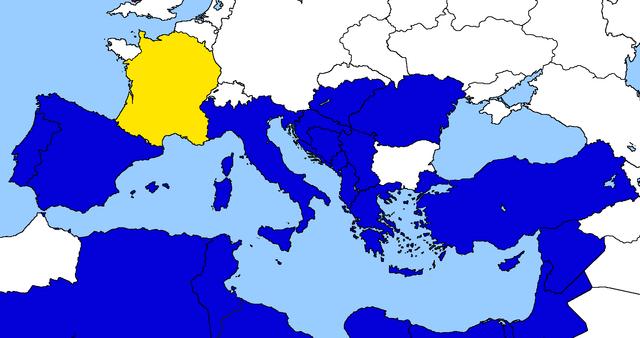Entrata della Francia nella Comunità Economica Euro-Mediterranea