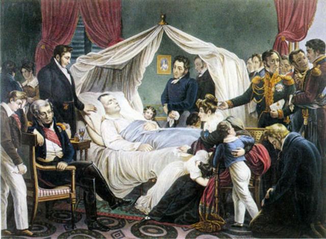 Muerte de Napoleon