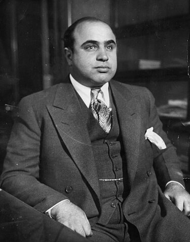 Al Capone. (1899-1947).