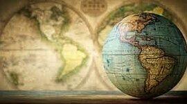 Línea del tiempo de las corrientes de pensamiento geográfico. timeline