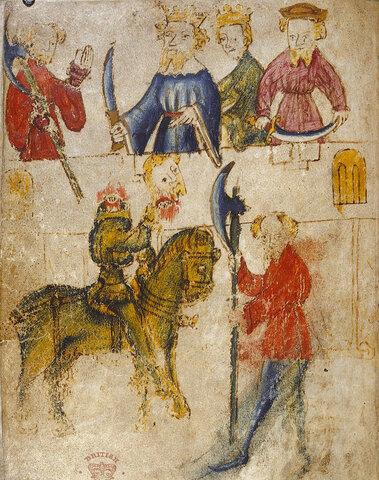 Gawain and the Green Knight.