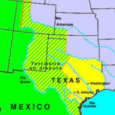Separación de Texas e Intervención Norteamericana. timeline
