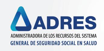 ADRES Administradora de los Recursos del Sistema General de Seguridad Social en Salud