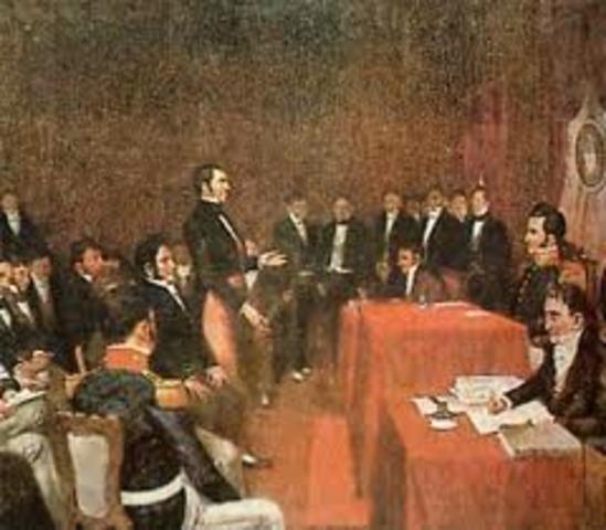 Fin de la Asamblea Constituyente