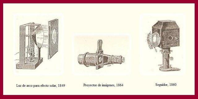 Catálogo de luminarias para efectos teatrales (Dubosq)