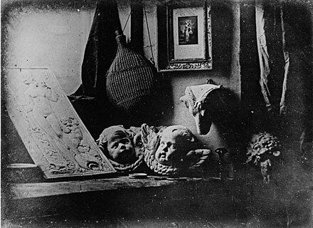 Daguerotipo. Inicio de la fotografía. (Daguerre)