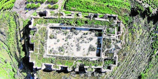 El Castillejo de Monteagudo de Murcia por Ibn Mardanis.