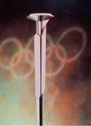 La antorcha Olinpica de Barcelona'92