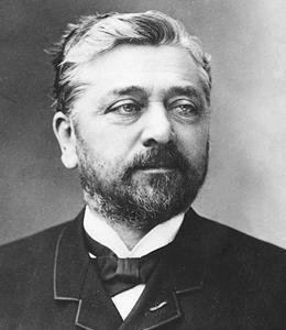 (1832-1923)Alexandre Gustave Eiffel