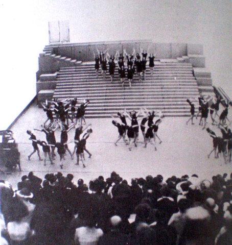 """Orfeo y Eurídice"""". Appia – Dalcroze. Festspielhaus Hellerau"