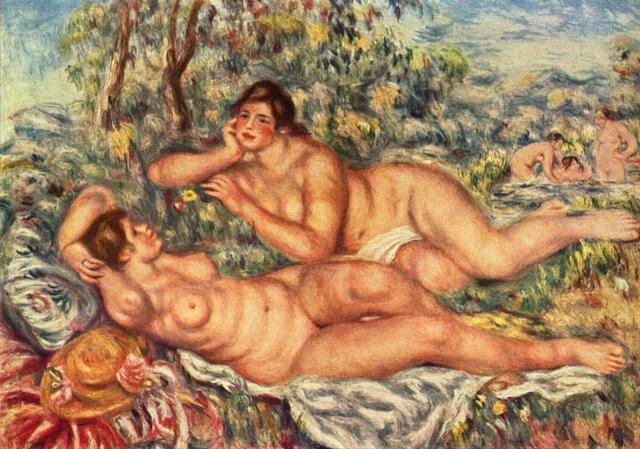 Las bañistas (Renoir)