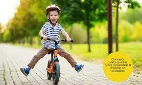 Aprendre anar en bicicleta