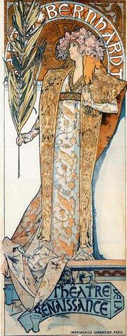 El Art Nouveau en los carteles