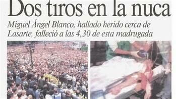 Asesinato de Miguel Angel Blanco por ETA