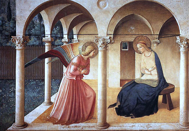 Beato Angelico, Annunciazione